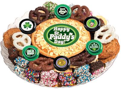 St Patrick's Day Cookie Pie & Cookie Platter