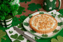 St Patrick's Day Cookie Pie