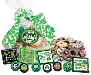 "ST. PATRICKS DAY ""COOKIE TALK"" MESSAGE PLATTERS"
