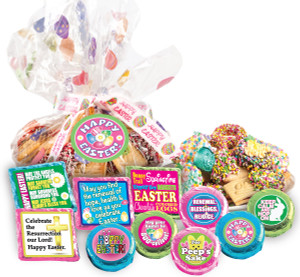 "EASTER/ SPRING ""COOKIE TALK"" MESSAGE PLATTERS"