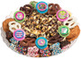 Easter Caramel Popcorn & Cookie Platter - No Top Label