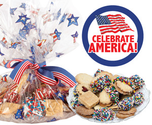 Celebrate America Butter Cookie Assortment