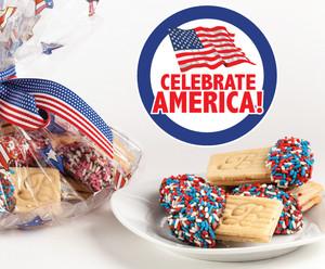 Celebrate America Joeyjoy Sandwich Butter Cookies