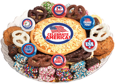 Celebrate America Cookie Pie & Cookie Assortment Platter