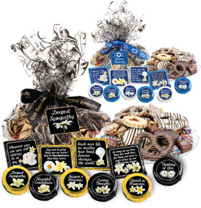 "SYMPATHY/ SHIVA  ""COOKIE TALK"" MESSAGE PLATTERS"