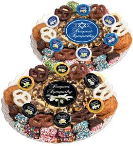 Sympathy/Shiva Popcorn & Cookie Assortment Platter