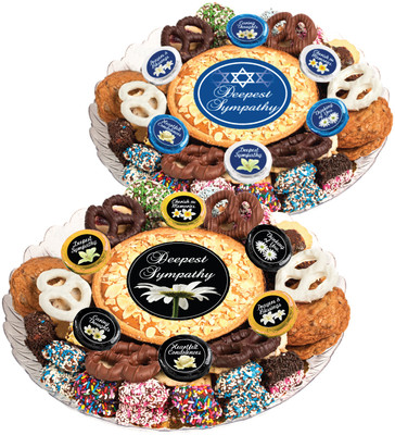 Sympathy/Shiva Cookie Pie & Cookie Assortment Platter