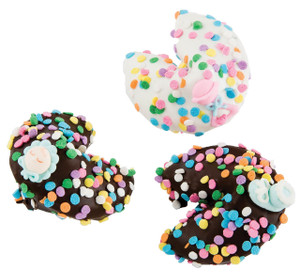 Baby Boy Chocolate Fortune Cookies - Special Order