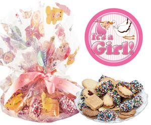 Baby Girl Butter Cookie Assortment