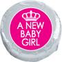 A New Baby Girl Chocolate Oreo Foil