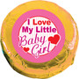 Love Baby Girl Chocolate Oreo Foil