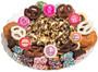 Baby Girl Caramel Popcorn & Cookie Platter - No label