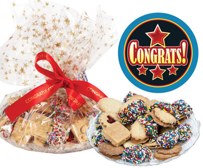 Congratulations Butter Cookie Assortment