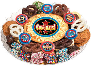 Congratulations Cookie Pie & Cookie Assortment Platter