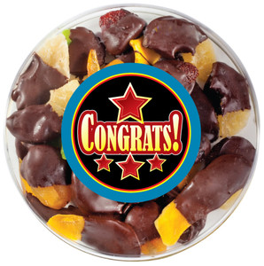 Congratulations Chocolate Dipped Dried Fruit