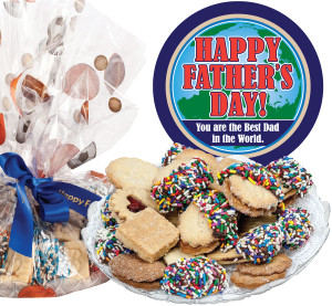 Father's Day Butter Cookie Platter