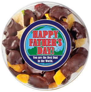 Father's Day Chocolate Dipped Dried Fruit