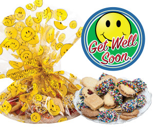 Get Well Butter Cookie Assortment Platter