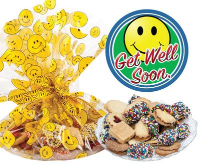 Get Well Butter Cookie Assortment Platter