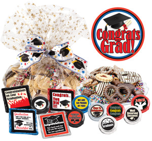 Graduation Cookie Talk Message Platter
