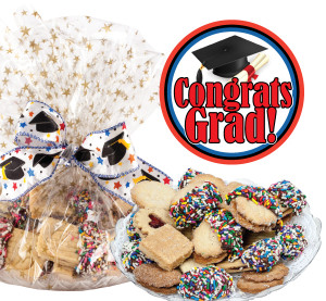 Graduation Butter Cookie Platter