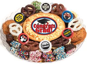 Graduation Cookie Pie & Cookie Assortment Platter