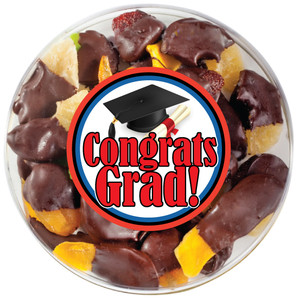 GRADUATION CHOCOLATE DIPPED DRIED MIXED FRUIT