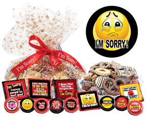 I'm Sorry Cookie Talk Message Platter