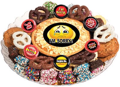 I'm Sorry Cookie Pie & Cookie Platter