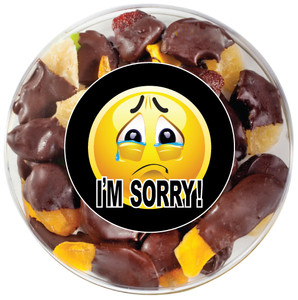 I'M SORRY! CHOCOLATE DIPPED DRIED FRUIT