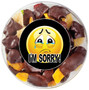 I'm Sorry Chocolate Dipped Dried Fruit