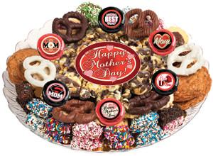Mother's Day Caramel Popcorn & Cookie Platter
