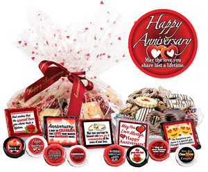 "Anniversary ""Cookie Talk"" Message Platters"