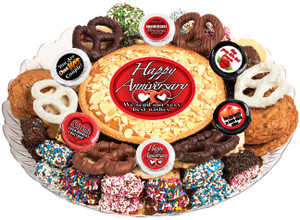 Anniversary Cookie Pie & Cookie Assortment Platter