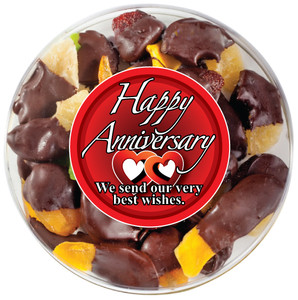 ANNIVERSARY CHOCOLATE DIPPED MIXED FRUIT
