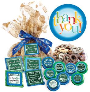 "Thank You ""Cookie Talk"" Message Platters"