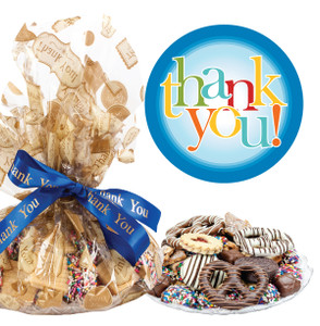 Thank You Butter Cookie Assortment Platter