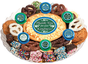 Thank You Cookie Pie & Cookie Assortment Platter