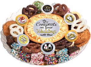 Wedding  Cookie Pie & Cookie Assortment Platter