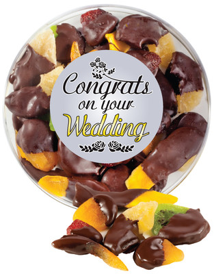 Wedding Chocolate Dipped Dried Fruit