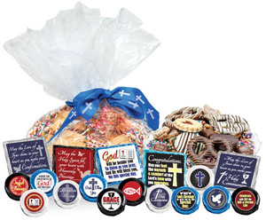 "COMMUNION/ CONFIRMATION - ""COOKIE TALK""  MESSAGE PLATTER"