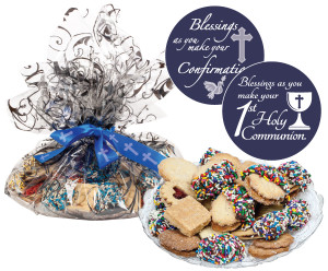 Communion/Confirmation Butter Cookie Platter