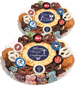 Communion/ Confirmation - Cookie Pie & Cookie Assortment Platter