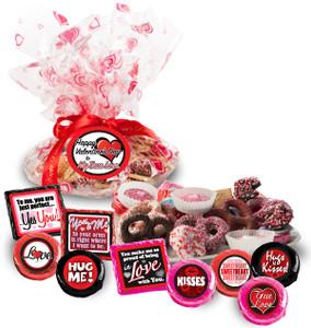 Cookie Talk Message Platters - Valentine