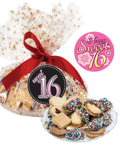 Sweet 16 Butter Cookie Platter