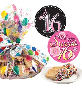 Sweet 16 Joeyjoy Raspberry Sandwich Butter Cookies