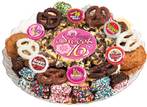 Sweet 16 Popcorn & Cookie Assortment Platter