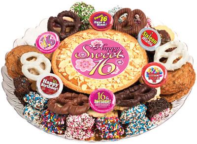 Sweet 16 Cookie Pie & Cookie Platter