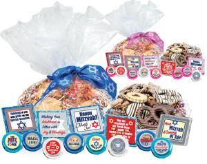 Bar Mitzvah Cookie Talk Message Platters