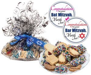 BAR/ BAT MITZVAH BUTTER COOKIE ASSORTMENT